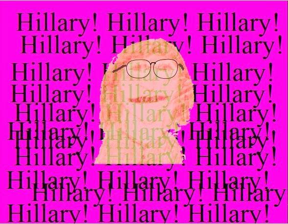 Cartoon of Hillary.