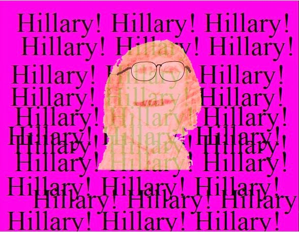 Cartoon of Hillary.